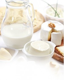 Производство молочной продукции